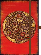 Notizbuch Note Natalia Schäfer Afrika African Art Premium Timer Gecko signiert