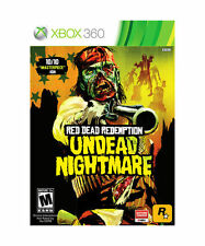 RED DEAD REDEMPTION UNDEAD NIGHTMARE Microsoft XBox 360 Game
