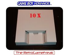 ■■■ Gameboy Advance / GBA : 10 x Inlay / Inserts for GBA Boxes / Games ■■■