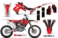 Honda CRF 450 R Graphic Kit AMR Racing Decal Sticker Part CRF450R 13-14 CARBONX