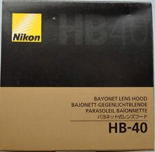 Nikon HB-40 lens hood for AFS 24-70mm F2.8 G