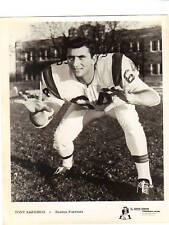 1962 BOSTON PATRIOTS Team Issue Photo TONY SARDISCO