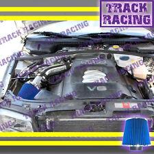 2002 2003-2005 AUDI A4 A6 BASE/QUATTRO/WAGON 3.0L V6 AIR INTAKE KIT Black Blue