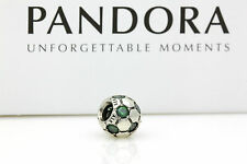Genuine Authentic PANDORA Sterling Silver SOCCER BALL Charm Bead Suit Bracelet