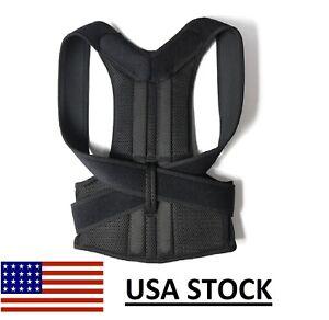 Posture Corrector Adjustable Back Support True Fit Back Brace S/M/L/XL/XXL/3XL/4
