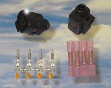 Reparatursatz 2x Stecker 1J0973702 mit 4x Kontakten N10335706 4x Stossverbinder