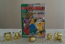 Pokemon Collection from Bandai Mini Figure 5 Characters Made In Japan*Free Ship