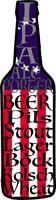 BEER Decal - Beer Bottle with Beer Styles Vinyl Sticker - Beer Bumper Sticker