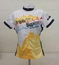 Primal Wear Triple Bypass 2012 Full-Zip Cycling Bike Jersey Women's Medium NEW