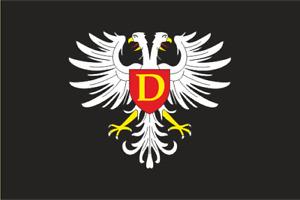 Aufkleber Drulingen (Frankreich) Fahne Flagge 30 x 20 cm Autoaufkleber
