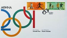 Canada Stamps, First Day Cover, Athens Olympic Games 2004 - 28/7/2004