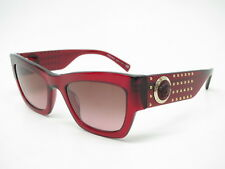 d350a00913c5b New Versace VE 4358 5297 14 Transparent Red w Violet Brown Gradient  Sunglasses