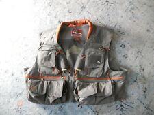 Men's ORVIS fly fishing vest Sz. XL
