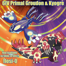6IV Shiny Primal Groudon & Kyogre Pokemon Guide [Sun/Moon/Ultra SM]
