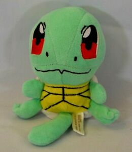 "2007 Pokemon Center Game Freak Small Squirtle Plush 4.5"""