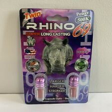 Rhino 69 Twin 500k Platinum Male Enhancement