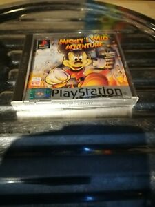 RETRO CLASSIC SONY PLAYSTATION 1/PS1 DISNEY-MICKEY`S WILD ADVENTURE 99P GAME