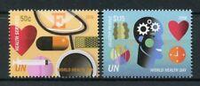 United Nations UN New York 2018 MNH World Health Day 2v Set Medical Stamps