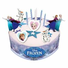 19 Piece Disney's Frozen Ice Skating Party Birthday Cake Decorating Kit Set