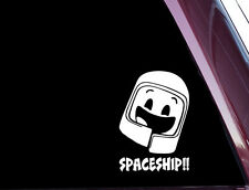 SPACESHIP!! - Lego Movie -  Precision-cut Vinyl Decal / Sticker NOT PRINTED A-89