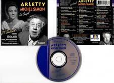 "ARLETTY - MICHEL SIMON ""La Compil - 21 Succès"" (CD) 1994"
