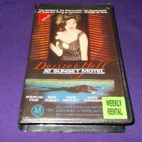 DESIRE & HELL AT THE SUNSET MOTEL VHS PAL SHERLYN FENN