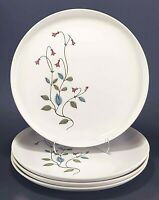 """4 Franciscan Family China Winsome 8 1/2"""" Salad Plates"""