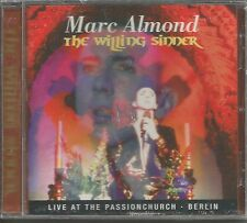 Soft Cell MARC ALMOND The Willing Sinner LIVE EUROPE CD USA Seller SEALED 2003