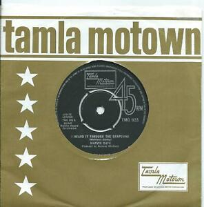 Marvin Gaye:I heard it through the grapevine/Chained.UK Tamla Motown: TMG 923