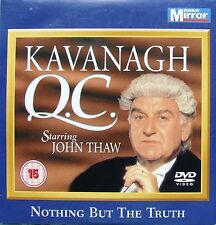 DVD Daily Mirror Promo KAVANAGH QC John Thaw Nothing But The Truth Crime Justice