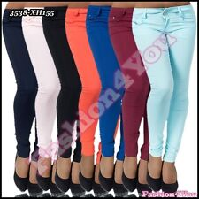 Sexy Ladies Skinny Trousers Women's Casual Hipsters Pants Size 6,8,10,12,14 UK