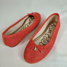 Sam Edelman Falcon Ballet Flat Coral NEW without box Size 6 US 36 EUR