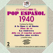 LOS Nº1 DEL POP ESPAÑOL 1940-2CD