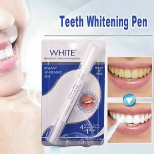 2X Stylo Blanchiment Dents Pinceau Gel Blanchisseur Sourire De Star Made In Usa