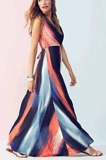 Phase Eight Women's Leona Print Maxi Dress - SIZE 16 UK MULTI COLOUR