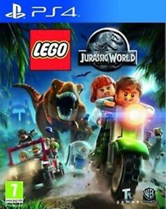 Lego Jurassic World PS4 VERY GOOD FREE POST+TRACKING INCLUDES MANUAL!