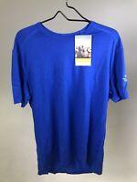 ICEBREAKER 100% Merino Men's Oasis 200 Crew T-shirt - BLUE - XXL- NEW WITH TAGS!