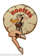 HOOTERS MARINE PARATROOPER PARACHUTE GIRL LAPEL PIN AIRPLANE SKY DIVE