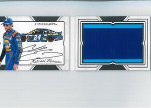 Chase Elliott BOOKLET Auto #/25 JUMBO Rookie? Sheet Metal Autograph NASCAR CHAMP