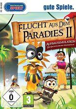 Flucht aus dem Paradies II 2 für Pc Neu/Ovp