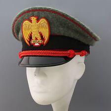 replica rare ww2  italia  per berretto da MVSN general visor hat