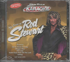 The Songs Of Rod Stewart Star Trax Karaoke CD NEU Sailing Da Ya Think I'm Sexy