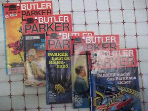 5 x Butler Parker Kriminal- Romanhefte