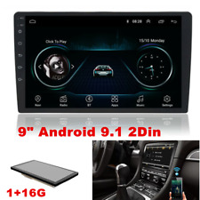 """9"""" Android 9.1 Double 2 Din Car Stereo Radio GPS Wifi OBD2 Mirror Link Player"""