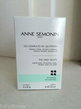 ANNE SEMONIN The Daily Musts Set: Cream, Exfoliating, Mineral & Gel Mask 4 x 10g