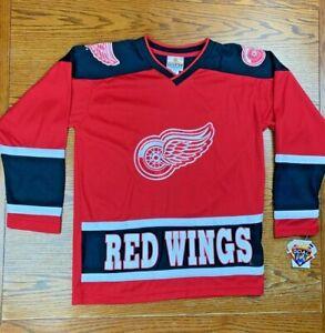 NWT Vintage 90s Winning Goal NHL Detroit Red Wings Brendan Shanahan #14 Jersey L