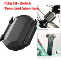 Cycling ANT  Bluetooth Wireless Speed Cadence Sensor For Garmin Bryton Bike GPS