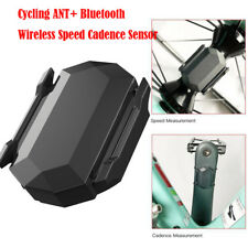 Cycling ANT  Bluetooth Wireless Speed Cadence Sensor For Garmin Bryton Bike GPS