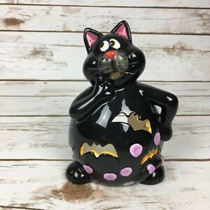 Black Cat Tea Light Candle Holder Halloween Decoration Table Decor Luminary