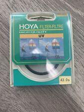 Hoya 43mm  UV Digital SLR